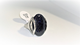 Blue-SandStone Gemstone Ring  (R)